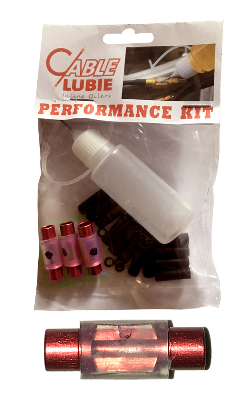 CableLubie - Red Lubes for your cables